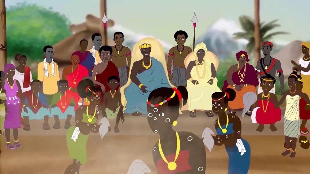 Affiche du film d'animation Kassa le messager