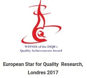 European star for quality reseach délivré à Inter'Net