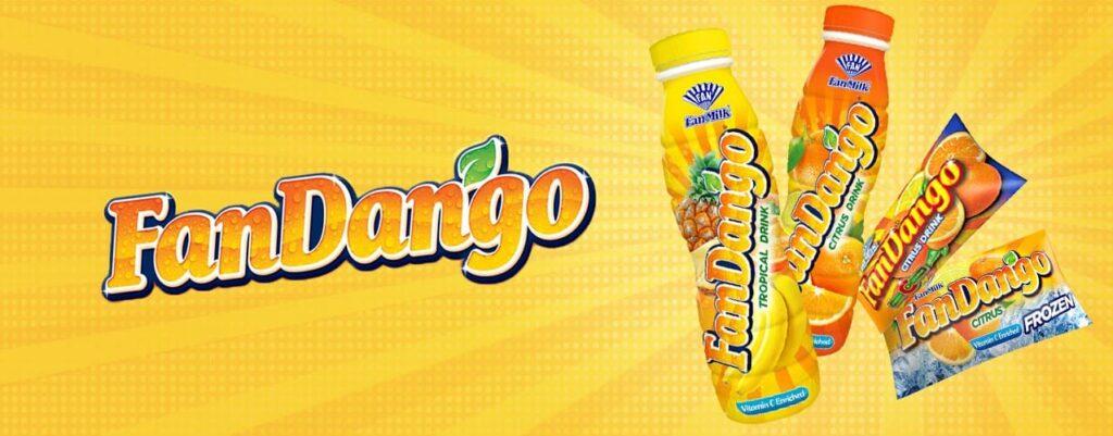 FanDango, boisson fruitée de Fan Milk