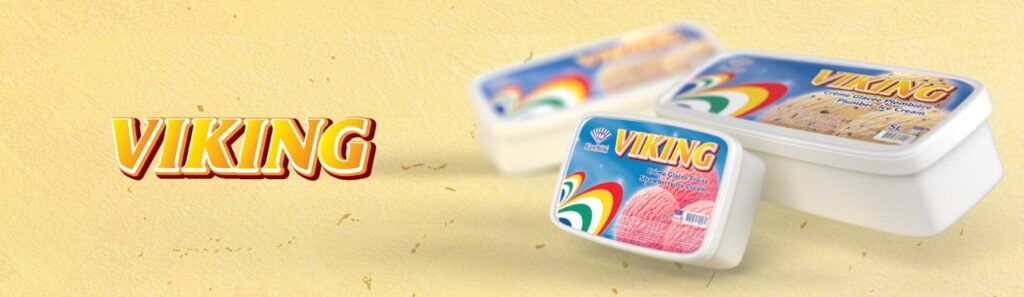 Viking, crème glacée de Fan Milk