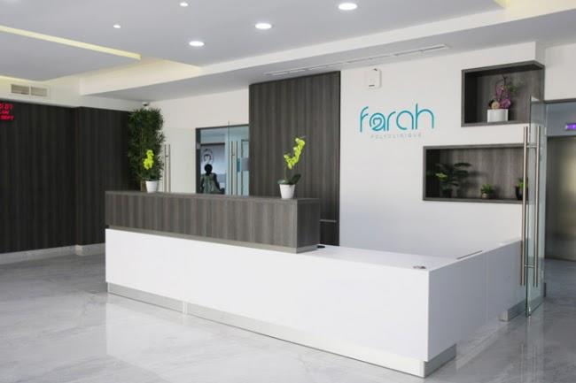 Accueil de la polyclinique Farah