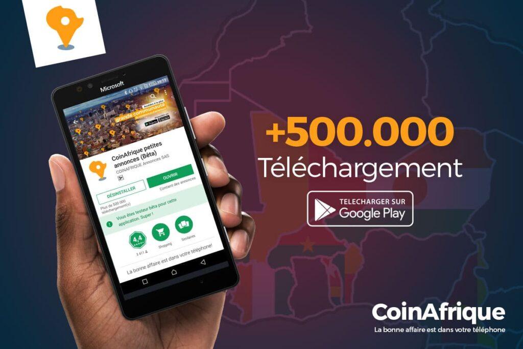 Application gratuite CoinAfrique sur Google Play Store