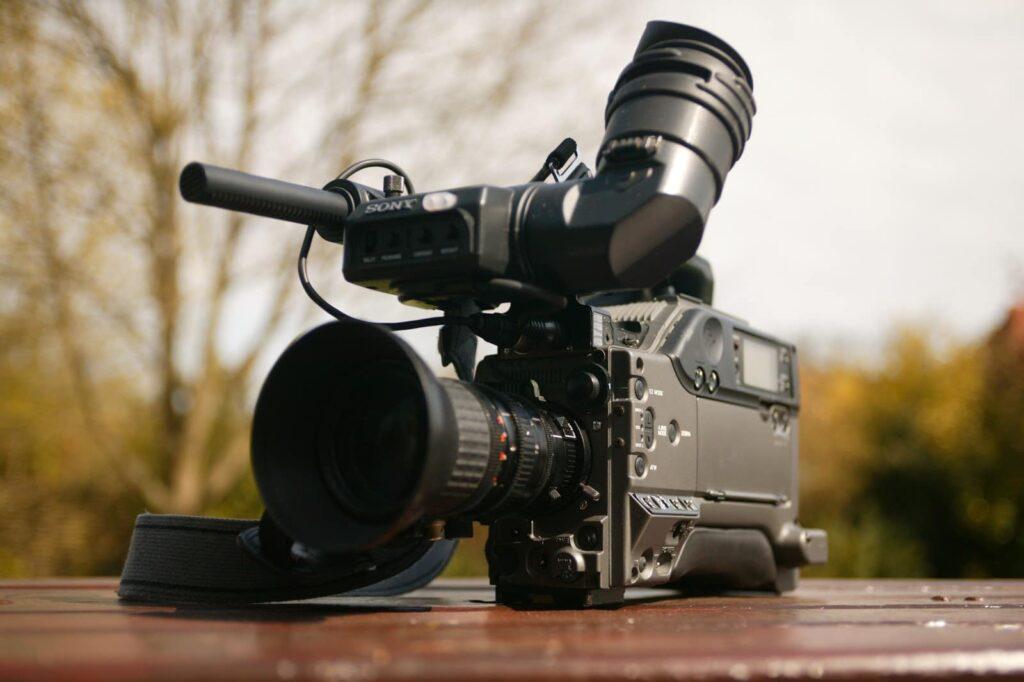Caméra professionnelle Sony, produit de Beeshop