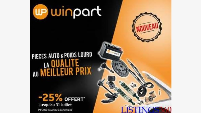 Campagne publicitaire de Winpart de CFAO Motors