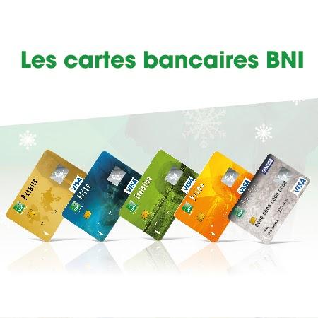 Cartes Visa de la BNI