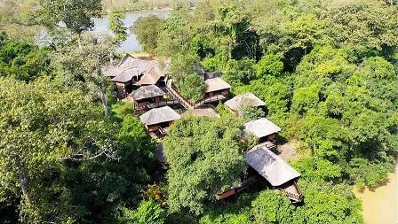 Les chalets N'Zi River Lodge