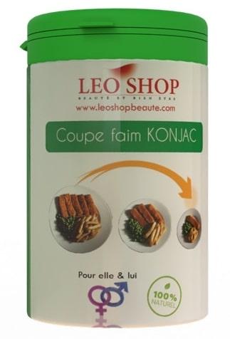 Coupe faim Konjac de Leo Shop
