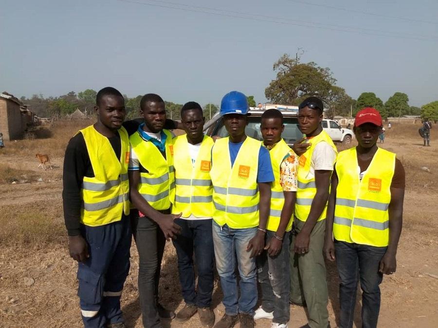Equipe de SLD Services et matériels CI