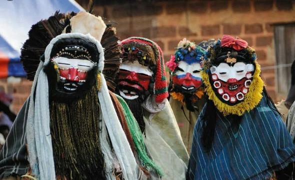 Goli - masque Baoulé afric voyages