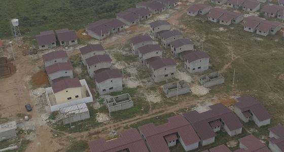 Logements en construction yrissa