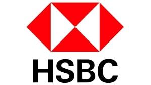 Logo HSBC, partenaire d'Action contre la faim