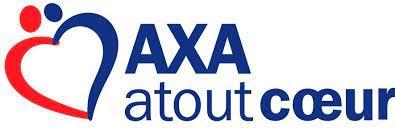 Logo AXA tout coeur, partenaire d'Action contre la faim