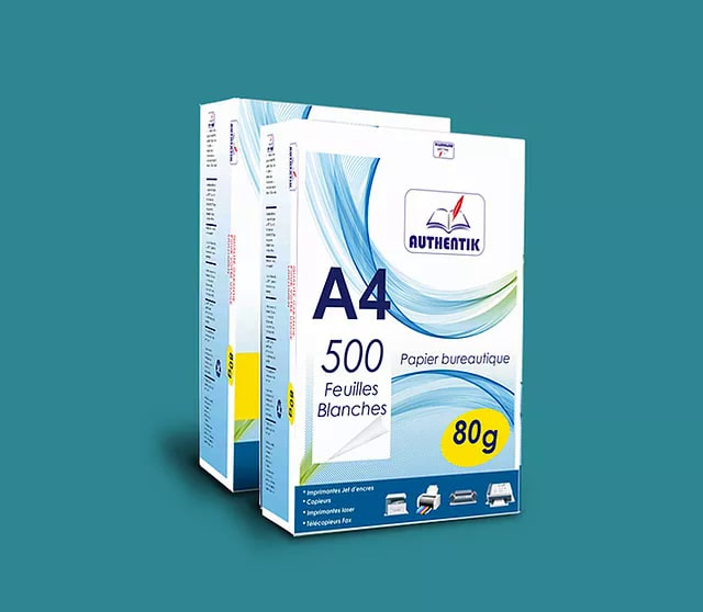 Papier A4 Authentik, en vente chez Acipac