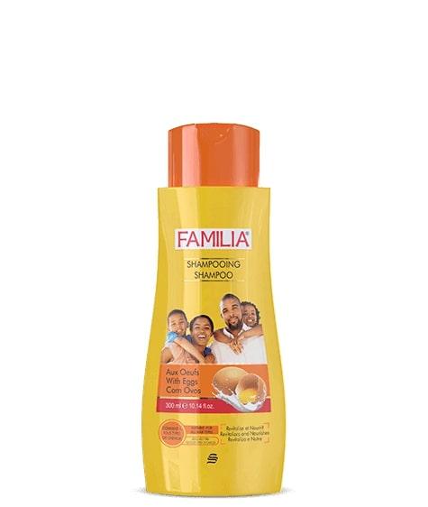 Shampooing Familia aux œufs, produit en vente chez SIVOP