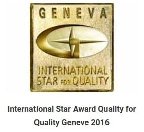 International star for quality délivré à Inter'Net