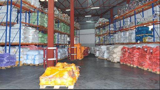 Zone de stockage ICOMA